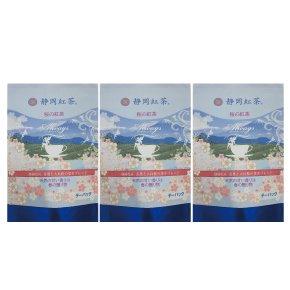 (3袋)桜の紅茶ティーバッグ (2g×12個入)