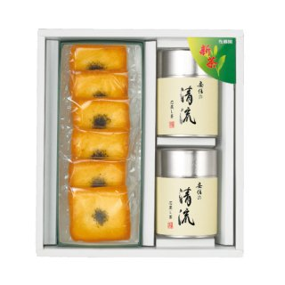 【新茶】【贈答用】清流+お茶フリアンのセット