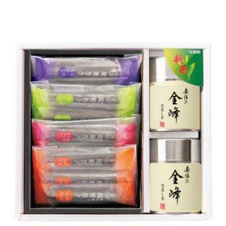 【新茶】【贈答用】金峰+風雅巻(12本)のセット