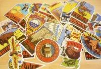 ダルトン アメリカの州のステッカー(Old states stickers)