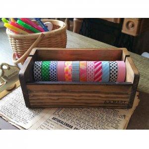 木製マスキングテープカッターL  テープホルダー