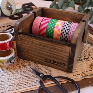 木製マスキングテープカッター Sサイズ  テープホルダー