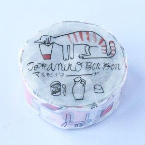 トラネコボンボン トラネコ マスキングテープ (記憶のモンプチA)