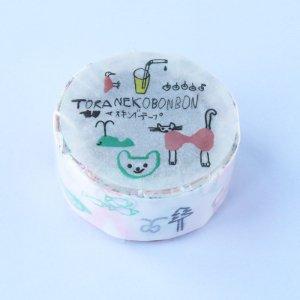 トラネコボンボン トラネコ マスキングテープ(記憶のモンプチC)