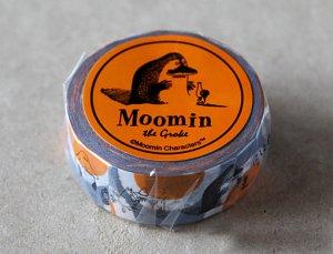 ムーミン マスキングテープ ムーミン谷の仲間たちシリーズ(モラン)