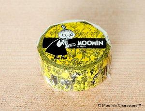 ムーミン マスキングテープ ぶどう畑のムーミンたち レモンイエロー