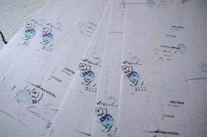 ヨハク  A4ペーパー テガミ  A4用紙 包装紙 ラッピングペーパー