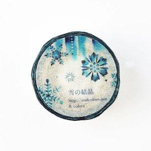 & colors マスキングテープ 雪の結晶