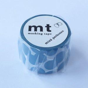 ミナペルホネン マスキングテープ soda water blueソーダウォーターブルー