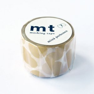 ミナペルホネン マスキングテープ waterゴールド 35mm