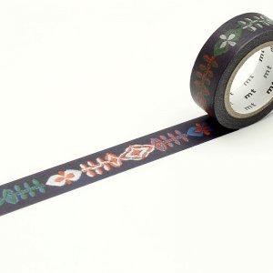 ミナペルホネン マスキングテープ petal flame 15mm