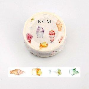 BGM マスキングテープ(アイスクリーム)