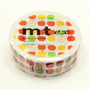 mtマスキングテープ ex アップルパターン
