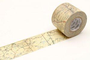 mtマスキングテープ PACK 地図ヴィンテージ 45mm