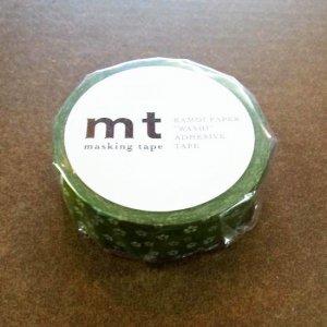 mtマスキングテープ1P   和紋 ねじり梅・鶯