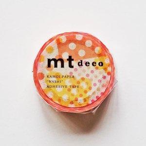mtマスキングテープ1P   ネガポジドット・ピンク