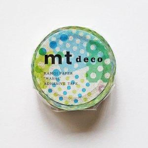 mtマスキングテープ1P   ネガポジドット・ブルー