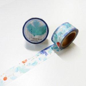小徑文化xLiangFeng マスキングテープ Birds 20mm