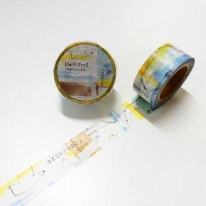 小徑文化xLiangFeng マスキングテープ Sea 20mm
