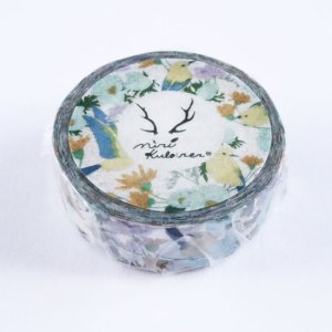 MiriKulo:rer(ミリクローレル) マスキングテープ birds&flowers