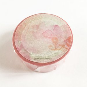 insomnia design マスキングテープ Cheerful Bloomピンク