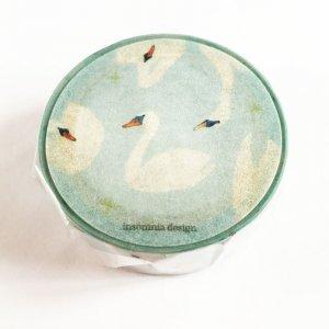 insomnia design マスキングテープ 白鳥の冬