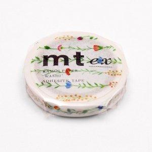mtマスキングテープ exスリム フラワーライン