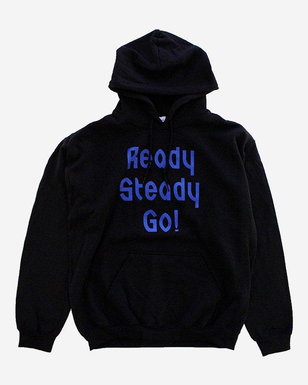 Ready Steady Go! Standard Logo Parker Black/Blue