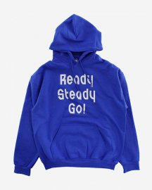 Ready Steady Go! Standard Logo Parker   Blue/White