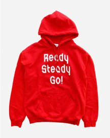 Ready Steady Go! Standard Logo Parker   Red/White