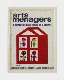 Arts menagers(1966) by Francis Bernard