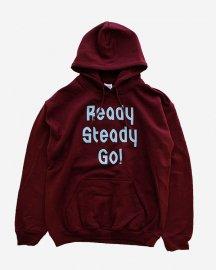 Ready Steady Go! Standard Logo Parker   Maroon/Sax Blue