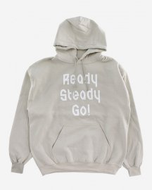 Ready Steady Go! Standard Logo Parker   Sand/White