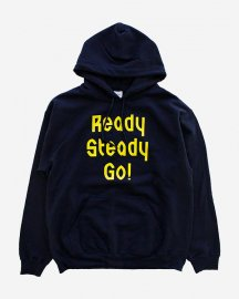Ready Steady Go! Standard Logo Parker   Navy/Yellow