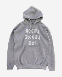 Ready Steady Go! Standard Logo Parker   Sports gray/White