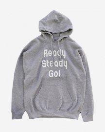 Ready Steady Go! Standard Logo Parker   Sports gray/White