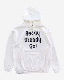 Ready Steady Go! Standard Logo Parker   White/Navy