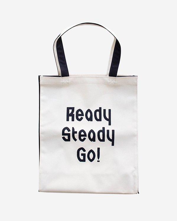 Ready Steady Go! Standard Logo Utility bag Navy blue