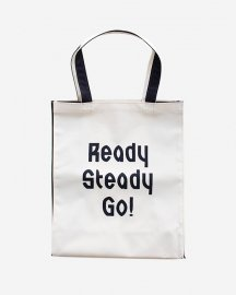 Ready Steady Go! Standard Logo Utility bag Navy blue
