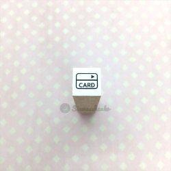 ミニスタンプ【クレジットカード】