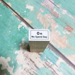 0円no spend day