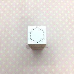 図形点線六角形