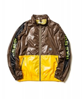 TRACK NYLON JKT (OD×YELLOW)