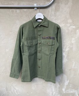70's ARMY UTILITY SHIRT 13'/2×30