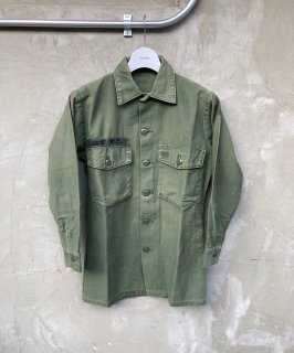 70's ARMY UTILITY SHIRT