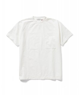 US Fabric POCKET S/S Tee (WHITE)