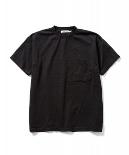 US Fabric POCKET S/S Tee (BLACK)