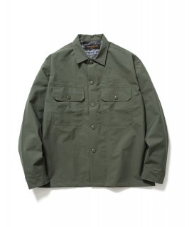3LAYER UTILITY SHIRTS (OLIVE)