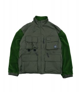 MIL FLEECE JKT (OLIVE)