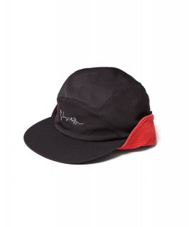 NYLON FLEECE CAP (BLACK)